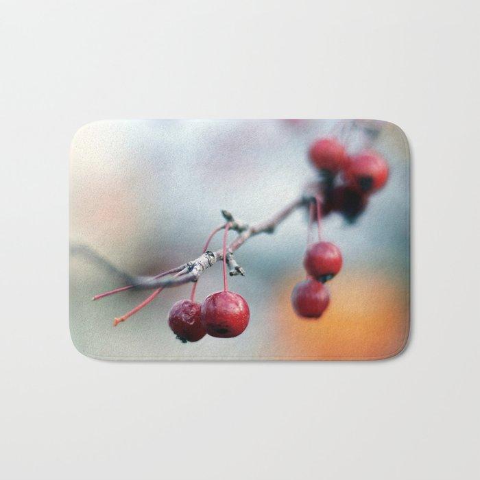 Fall Berries Bath Mat