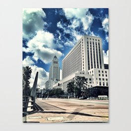 L.A. City Hall Canvas Print
