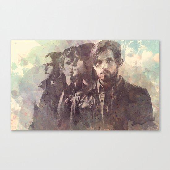 kings of leon Canvas Print