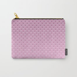 Lilac geometric pattern Carry-All Pouch