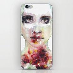 keeping inside this wild flowering iPhone Skin