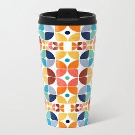 2015 Pattern Collection: Spring II Metal Travel Mug
