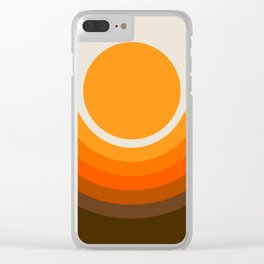 Golden Canyon Clear iPhone Case