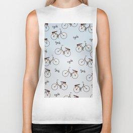 cycle biking poster pattern. Biker Tank
