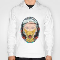 daria Hoodies featuring crystal goddess by Daria Golab