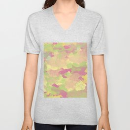 Abstract 41 Unisex V-Neck