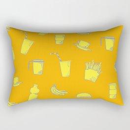 Food pattern Rectangular Pillow