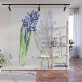 Hyacinth flowers Wall Mural