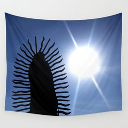 Guadalupe Solar Wall Tapestry