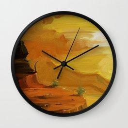 Desert Mind Wall Clock