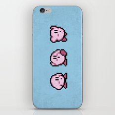 Kirbys Adventure iPhone & iPod Skin