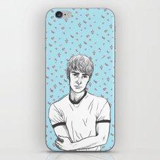 Finn Nelson Floral iPhone & iPod Skin
