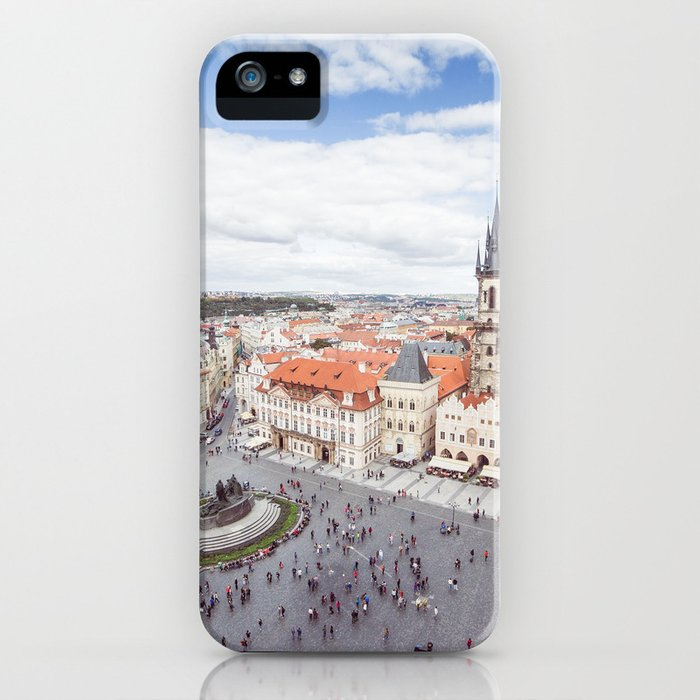 Old Town Square in Prague iPhone Case