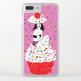 sprinkle the love Clear iPhone Case