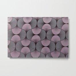 Shell pattern 2 Metal Print