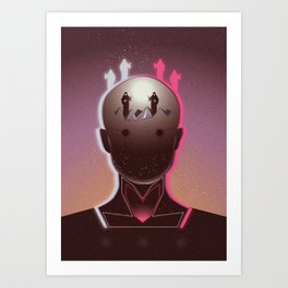 The Dream That We Are Our Fathers Art Print