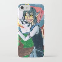 cheshire iPhone & iPod Cases featuring Cheshire by SofusGirl