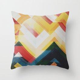 Mountain of energy Throw Pillow