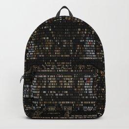 Physical Graffiti. Zeppelin lyrics print. Backpack