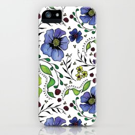 April Truly iPhone Case