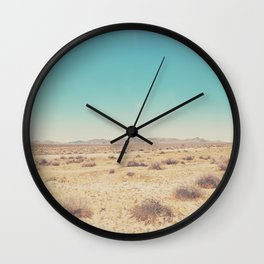 the Mojave Desert ... Wall Clock