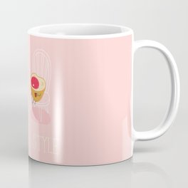 Apply you like every morning,then have a nice day !  Coffee Mug