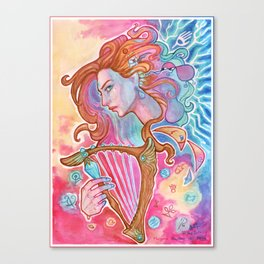 Bard  Canvas Print
