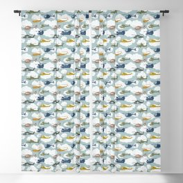 Kids Room Helicopters Blackout Curtain