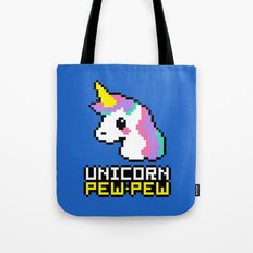 Unicorn Pew-Pew! Tote Bag