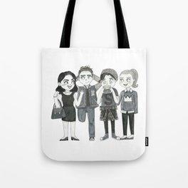 Riverdale - Archie, Veronica, Betty, Jughead Tote Bag