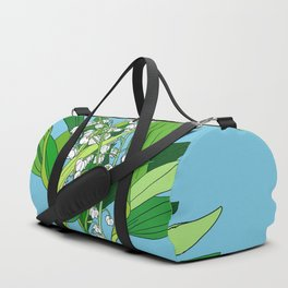 Lilly of the Valley Duffle Bag