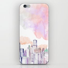 Pastel NYC iPhone Skin