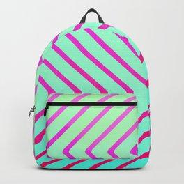 Beach Optical Painting Pop Art Backpack