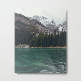 exploring moraine Metal Print