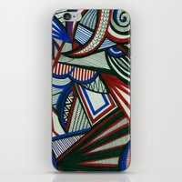 3d iPhone & iPod Skins featuring 3D by Jess D'Angelo
