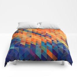 Pixel Splash Comforters