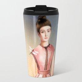 Girl In The Lake Travel Mug