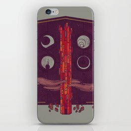 'Neath the Tower of Incomprehensible Sorcery iPhone Skin