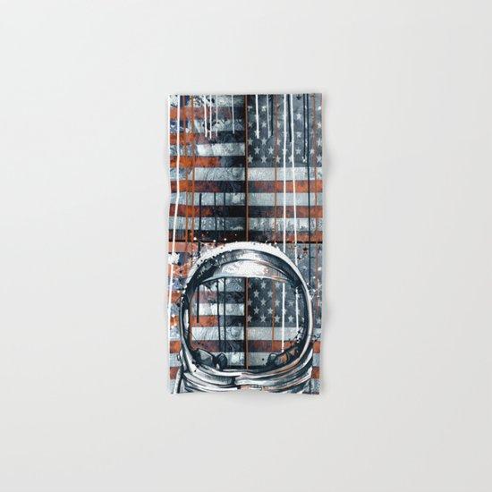 pop art usa collage 2 Hand & Bath Towel