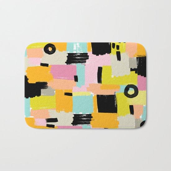 Color section001 Bath Mat