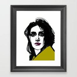 In Turn Framed Art Print