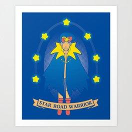 Star Road Warrior Geno Art Print