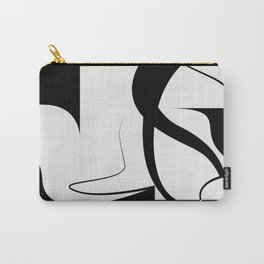 Venice / Abstract Shapes and Lines Carry-All Pouch
