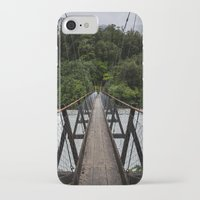 bridge iPhone & iPod Cases featuring Bridge by Michelle McConnell
