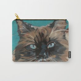 Tipper the Cat Portrait Carry-All Pouch