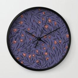 tender botanicals no. 01 Wall Clock