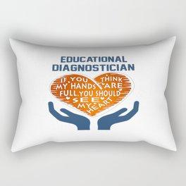 Educational Diagnostician Rectangular Pillow