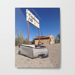 Vacation From Hell. Metal Print