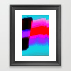 Flagging Framed Art Print