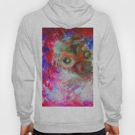 Abstract Owl   #society6 #decor #buyart Hoody